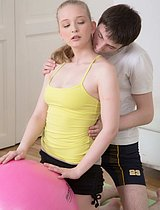 Nasty Coach Fucking Beautiful Teenage Sweetie - Picture 4